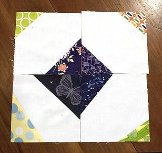 Scrappy Triangles Blues