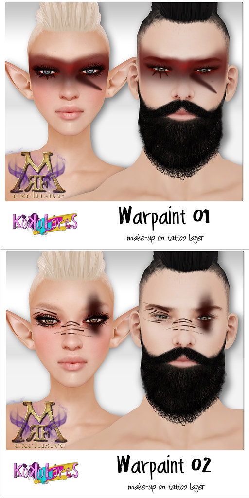 [KoKoLoReS] make-up - Warrior 01 & 02