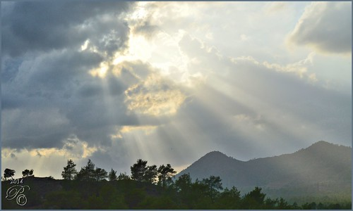 sunset cyprus delikipos
