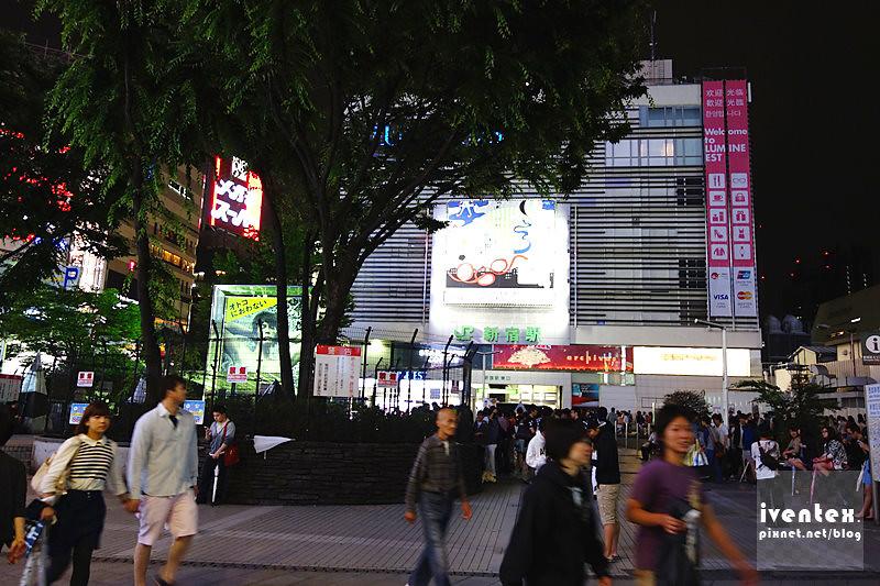 01刀口力日本東京JR新宿站