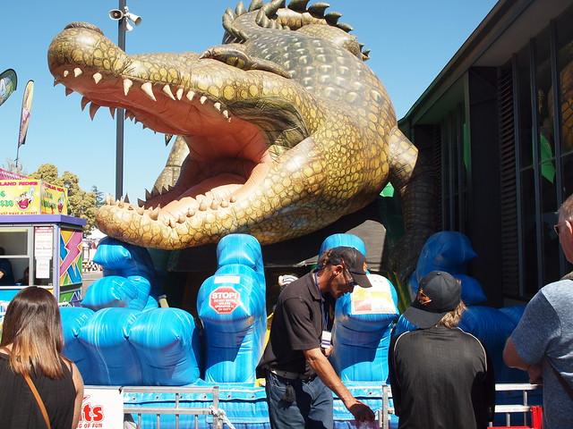 Melbourne Royal Show - Alligator Ride