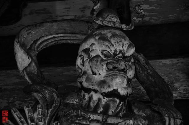 「仁王像 吽形」 仁和寺 - 京都