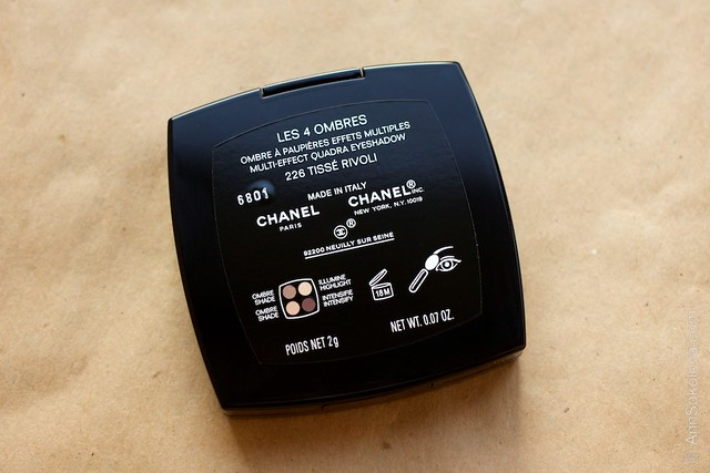02 Chanel Les 4 Ombres #226 Tisse Rivoli