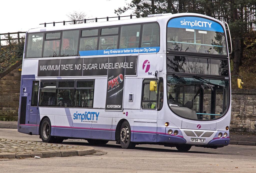 SF54TLX Volvo B7TL-Wright Eclipse Gemini  First Bus Glasgow