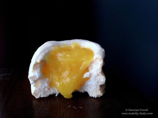 Bezele cu orange curd