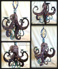 Octopus Candle Chandelier