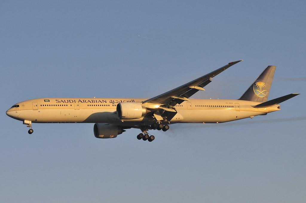 HZ-AK15 - B77W - Saudi Arabian Airlines