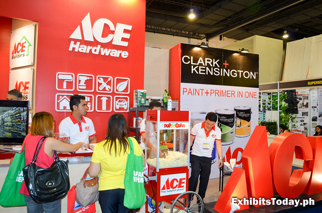 ACE Hardware Exhibit Booth