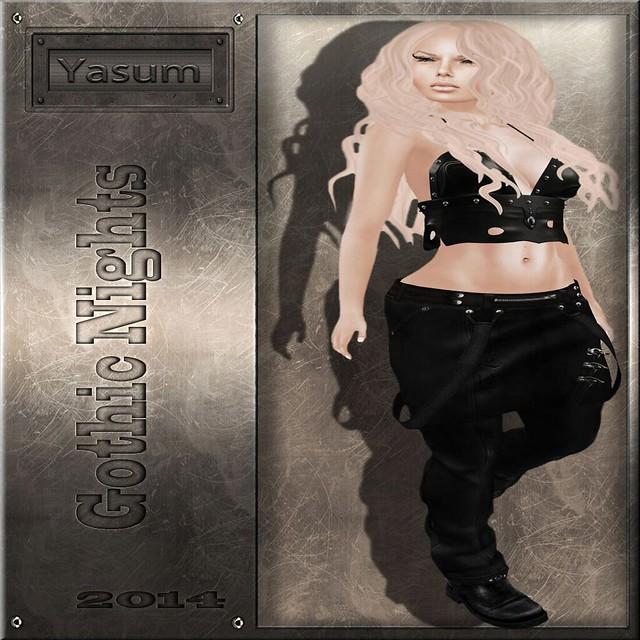 GOTHIC SKIRT PANTS COVER FEMALE - Yasum