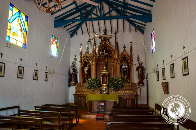 Church at Pueblito Paisa Medellin