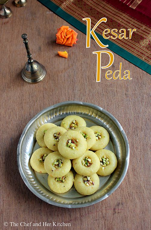 Kesar Peda Recipe | Easy Diwali Sweets