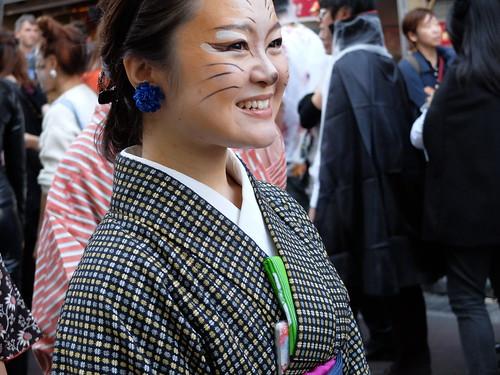 Kagurazaka Bakeneko Parade 2014-07