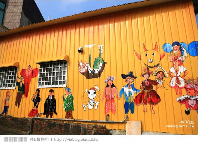 【關廟彩繪村】新光里彩繪村~在北寮老街裡散步‧遇見全台最藝術風味的彩繪村57