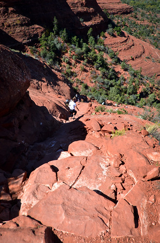 Sedona: Climbing the Cathedral Rock Trail