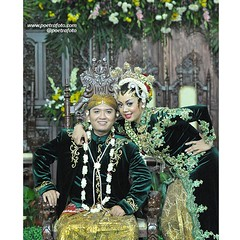 Simple. Couple. Javanese. Wedding. Deffie+Bedro wedding day at Wonogiri, Jawa Tengah, Oct 14, 2014. Photo by @Poetafoto.   Visit our web or FB for more images. Check our IG profile for more info. Thank you :)