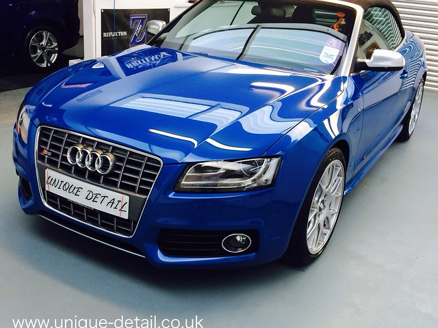 Audi S5 Mild Correction Detail