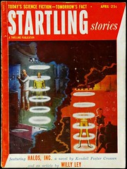 Startling Stories Vol. 29, No. 3 (April, 1953). Cover Art by Ed Emsh