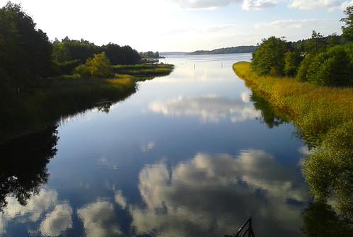 autumn reflections sweden september sverige mälaren 2014 ekerö tappströmskanalen tappström