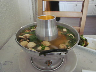 Tom Yum Soup from Araya's Place (Madison)