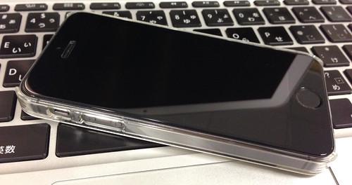 iPhoneに強化ガラスフィルム貼った!