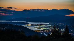 Vancouver Harbour & the Lions Gate Bridge