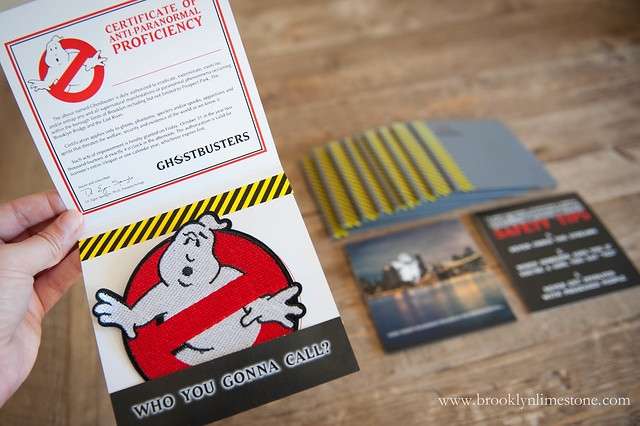 Halloween Invitations Ghostbusters Proficiency Certificate