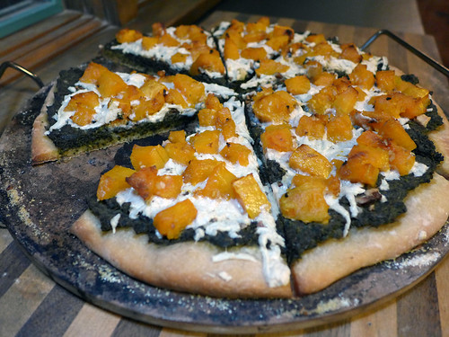2014-10-19 - Butternut Squash & Pesto Pizza - 0001 [flickr]