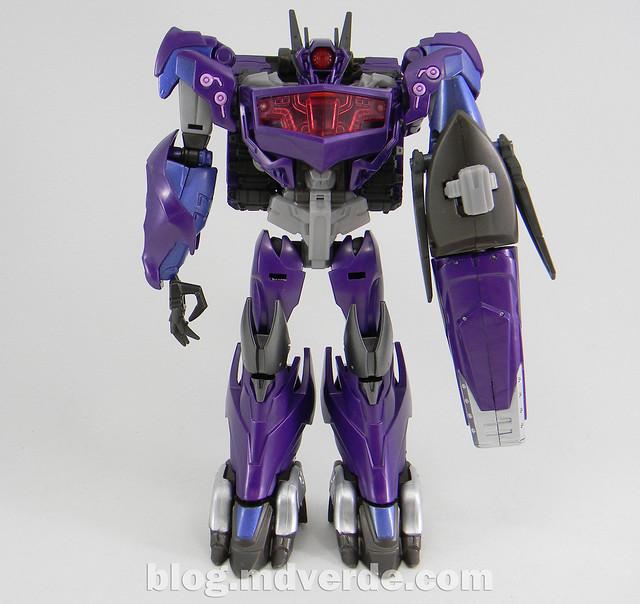 Transformers Hunter Shockwave Voyager - Transformers Go - modo robot