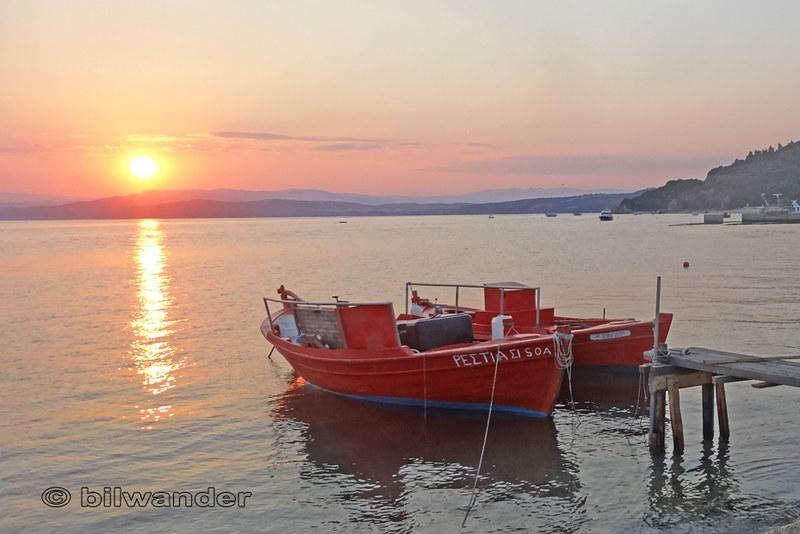 Macedonia, Ouranoupolis sunset, Aegean Sea, Chalkidiki, Greece #Μacedonia