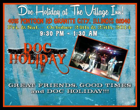 Doc Holiday 10-24, 10-25-14