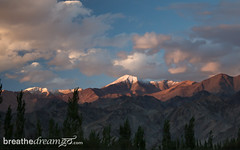 Ladakh sunset_