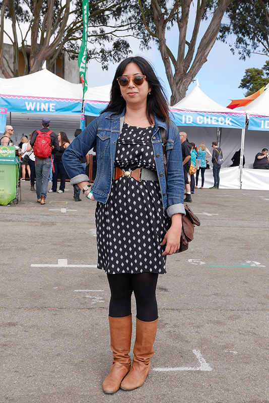 meriza Quick Shots, San Francisco, street fashion, street style, Treasure Island, treasure island music festival, women