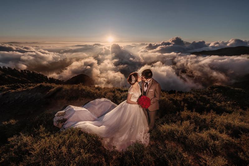 自助婚紗, 自主婚紗, 合歡山, 婚攝東法, Fine Art, 日落婚紗, Pre-Wedding, 老英格蘭