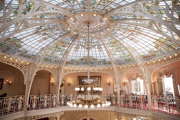 Hermitage Hotel Monte Carlo Monaco Ceiling