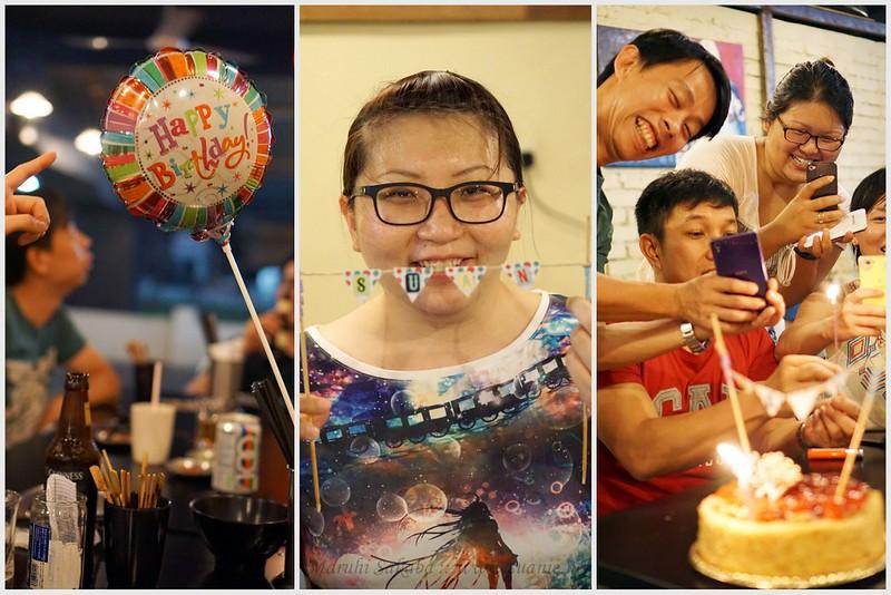 Maruhi Sakaba, Taman Desa - Suanie birthday