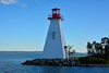 Lighthouse, Bras d'Or Lake, Kidston Island, Baddeck, Nova Scotia