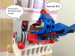 M.J. and the spideyglider