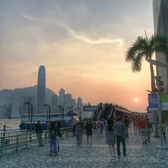 Sunny evenings in HK