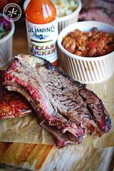 Hot Smoked Beef Ribs