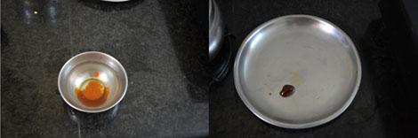 jaggery syrup consistency for pori urundai