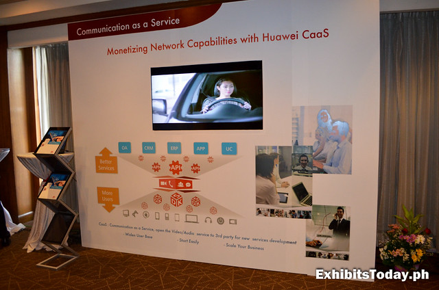 Huawei Communication as a Service Wall Panel