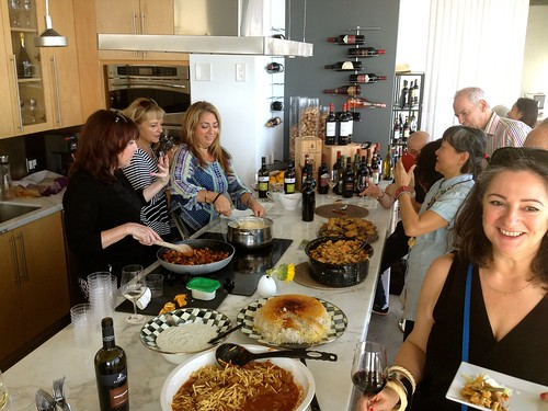 World Cuisine Potluck - South Florida Foodies & Zonin Wines