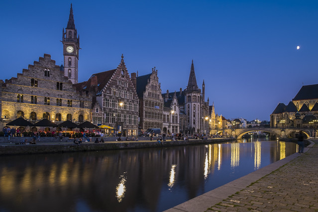Evening in Ghent