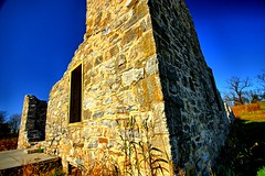 Corner of the ruins