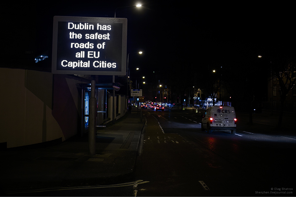 Dublin has safest roads of all EU Capitals