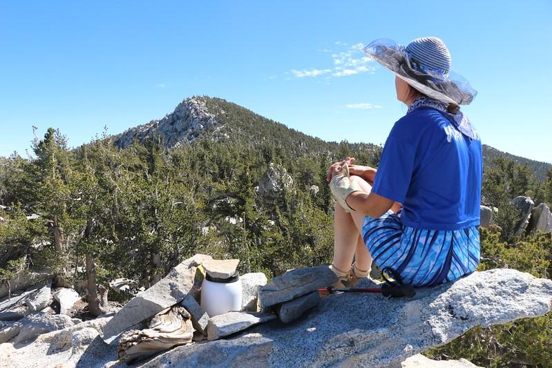 San Jacinto Peak and the Folly Peak Summit Register