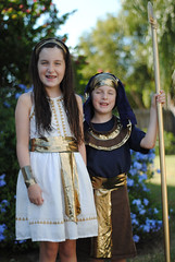 DIY Egyptian Costumes