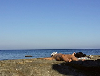 Imagine de Faliraki Beach (Παραλία Φαληρακίου) Mantomata beach. beach girl beauty naked nude greece nudist rhodes fkk nudismo desnudo faliraki naturista nudista mandomata mandomatabeach