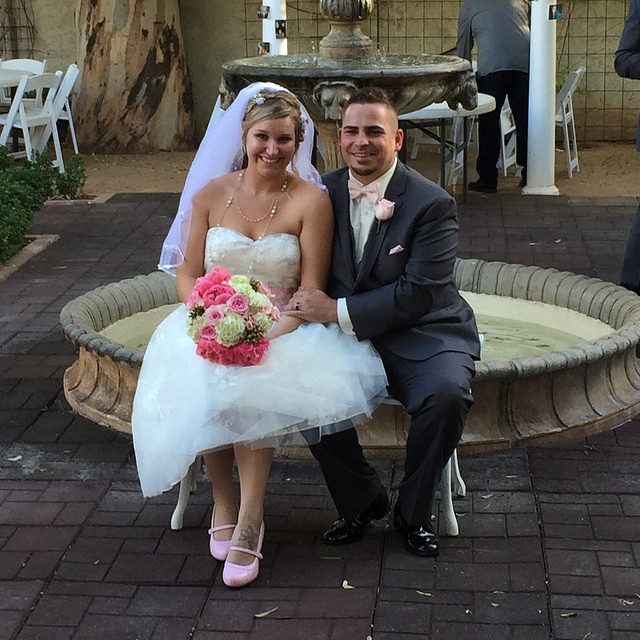 Congratulations Mr and Mrs Montgomery! Thanks so much for letting us be a part of your special day.