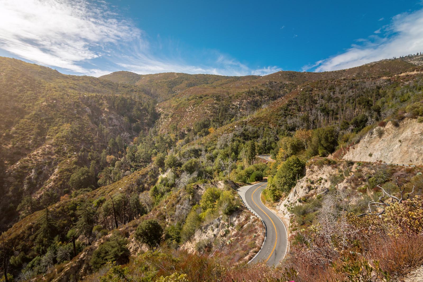 Highway 39 in California